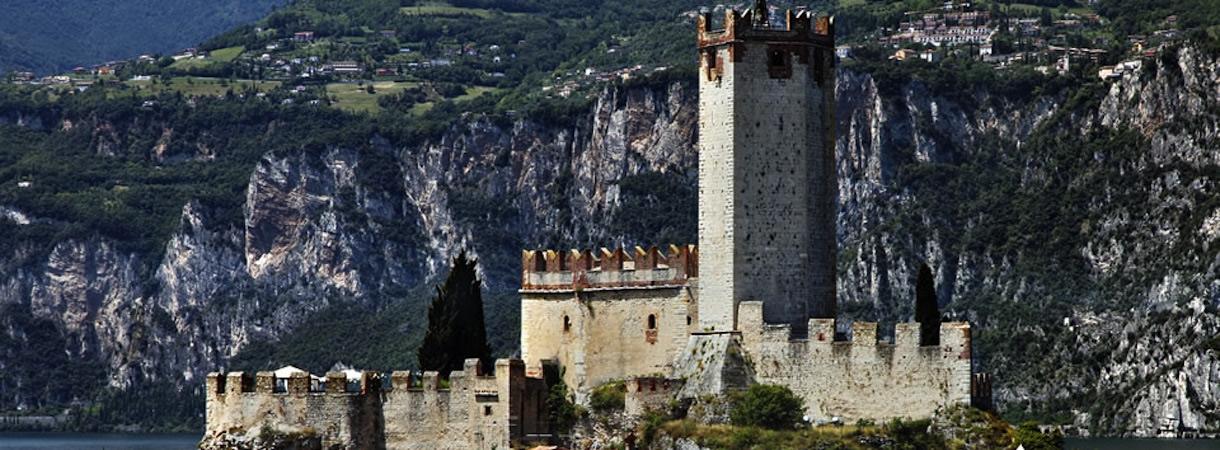 Veduta del Castello di Malcesine