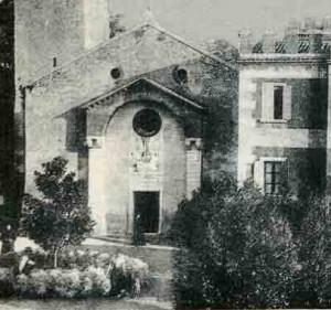 Church of Saint Andrea Incaffi Affi Lake Garda