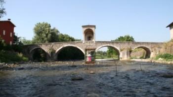 Ponte di Pontenove sul fiume Chiese