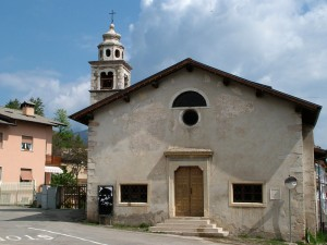Curch of S.Rocco Brentonico Lake Garda Italy