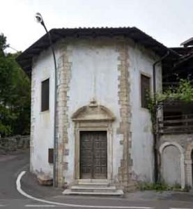 Church of San Romedio Brentonico Lake Garda Mount Baldo Italy