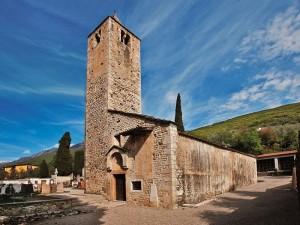 Church of San Zeno Brenzone Lake Garda Italy