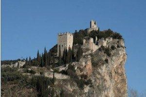 Castello di Arco lago di Garda