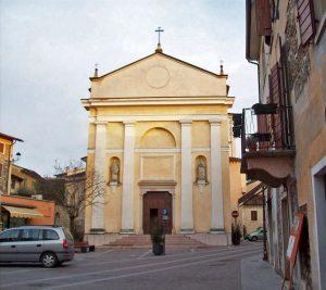 Church San Antonio Abate Ponti sul Mincio Lake Garda