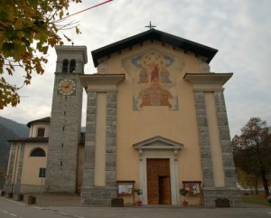 Church Saints Peter and Paul Tiarno Ledro Valley
