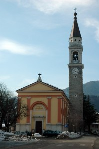 Church S.Bartolomeo Tiarno Ledro Valley