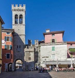 San Michele gateway Riva del Garda Lake Garda Italy