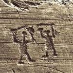 Incisioni rupestri Torri del Benaco Monte Luppia
